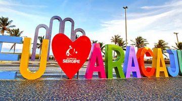 Letreiro de Aracaju - Praias de Aracaju