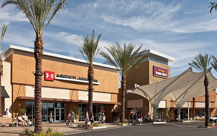 Outlets e shoppings em Las Vegas