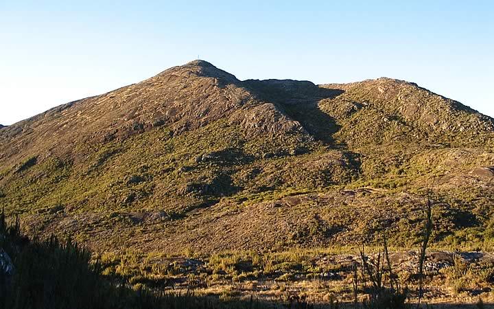 Pico da Bandeira no Parque Nacional do Caparaó