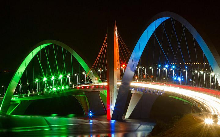 Ponte JK em Brasília