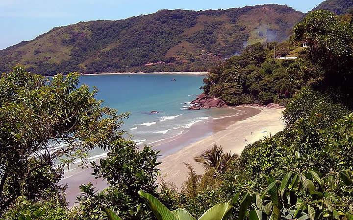 Praia Brava em Ubatuba