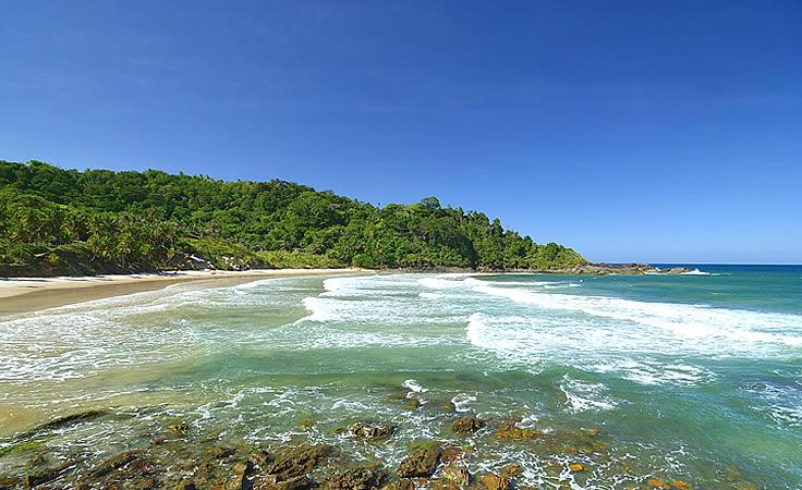 Praia da Engenhoca em Itacaré