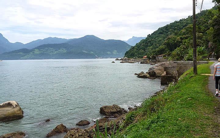Praia da Ribeira em Mangaratiba