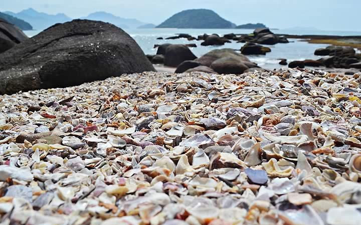 Praia das Conchas em Ubatuba