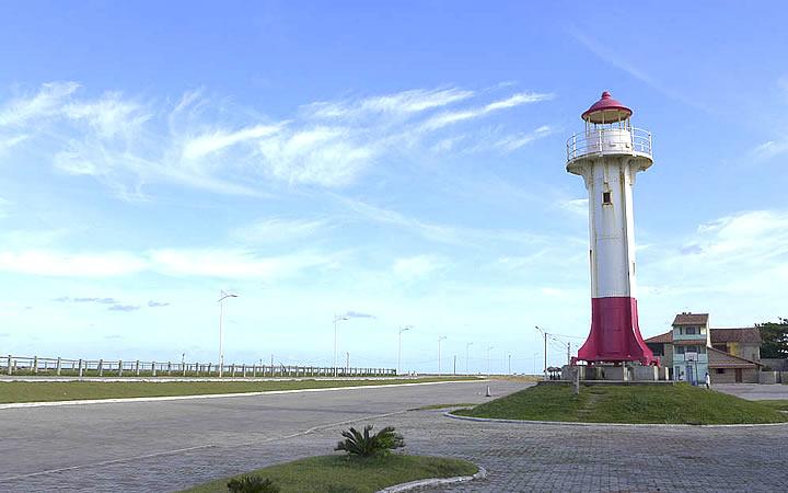 Praia do Farol em Conceição da Barra