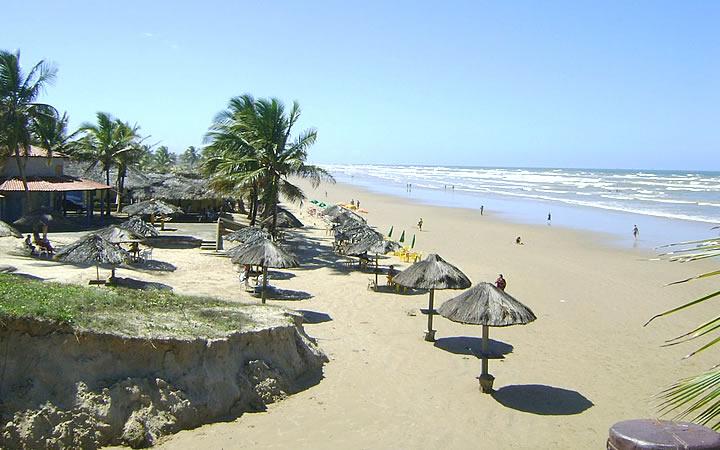 Praia do Refúgio em Aracaju