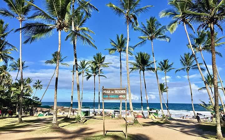 Praia do Resende em Itacaré