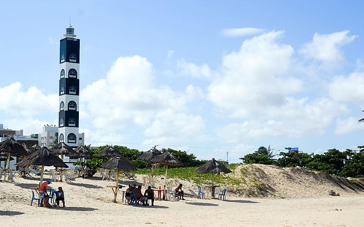 Praia dos Artistas em Aracaju