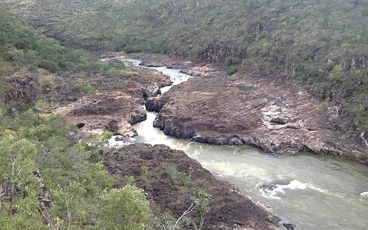 Rio São Miguel - Chapada dos veadeiros