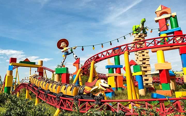 Toy Story - Montanha Russa