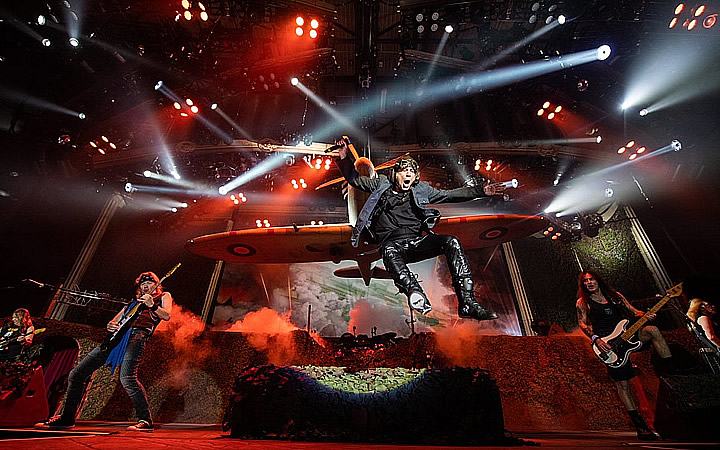 Banda Iron Maiden no Rock in rio