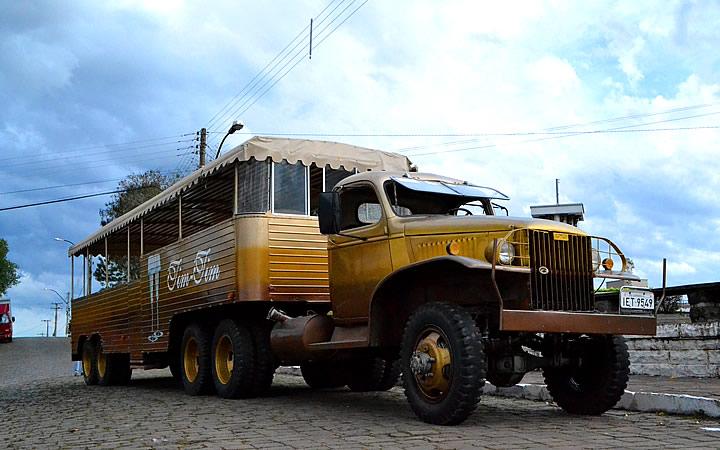 Caminhão de Passeio Tim-Tim em Garibaldi