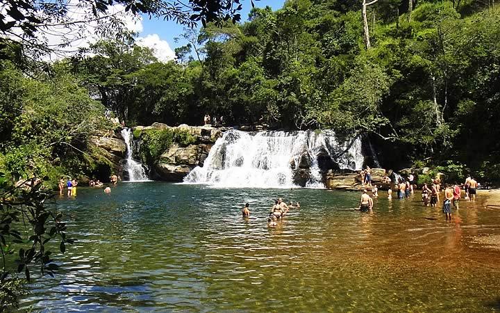 Carrancas - MG, Cachoeiras
