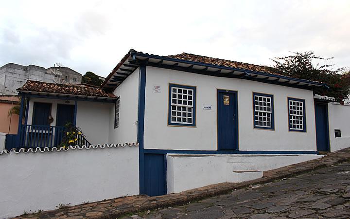 Casa de Juscelino Kubistchek em Diamantina