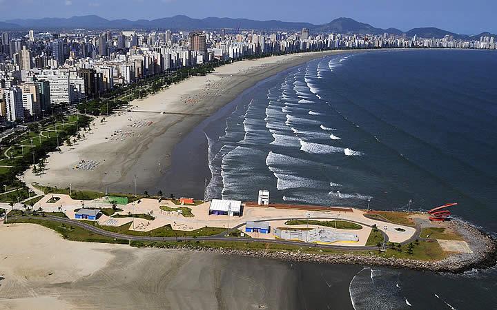 Emissário Submarino em Santos