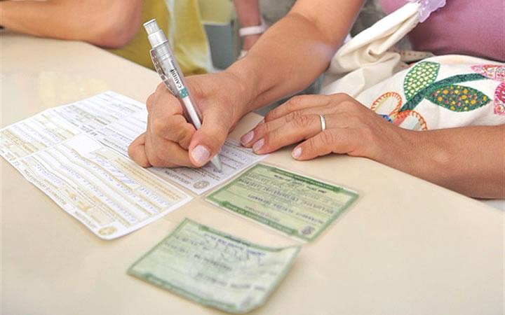 Formulário de justificativa da Justiça Eleitoral
