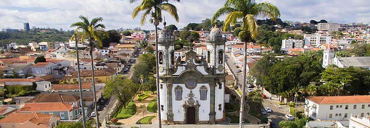 Igreja de Francisco de Assis em São João Del Rei