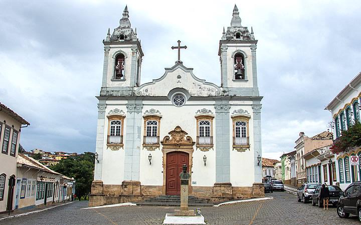 Igreja do Rosário em São João Del Rei