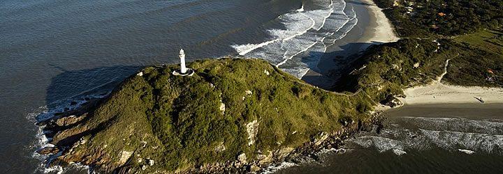 Farol das Conchas na Ilha do Mel