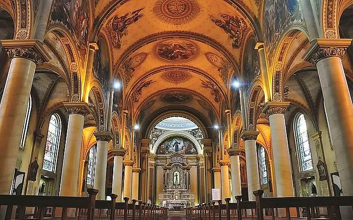 Interior da Catedral Metropolitana São Francisco