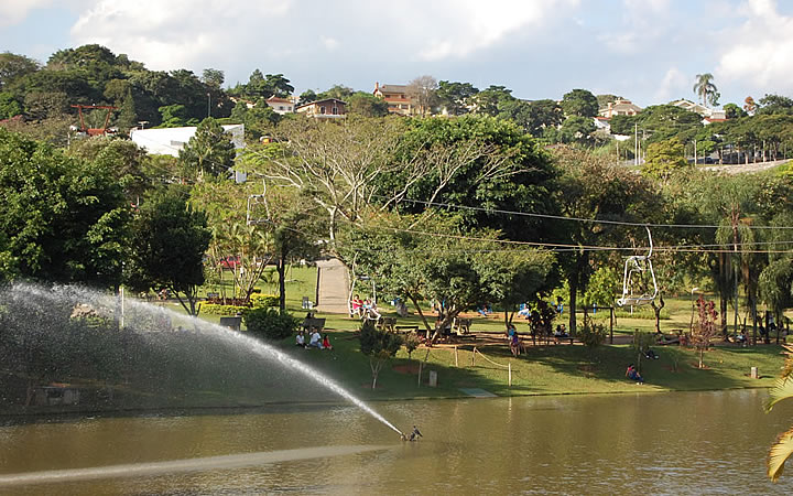 Lago do Major em Atibaia