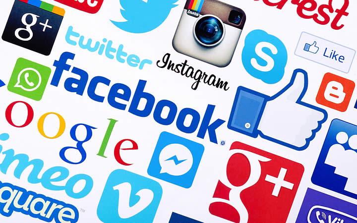Logo de Redes sociais