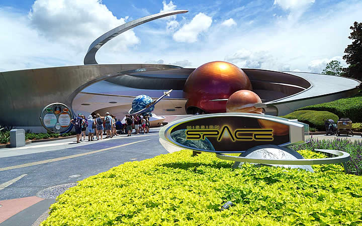 Mission Space no Epcot