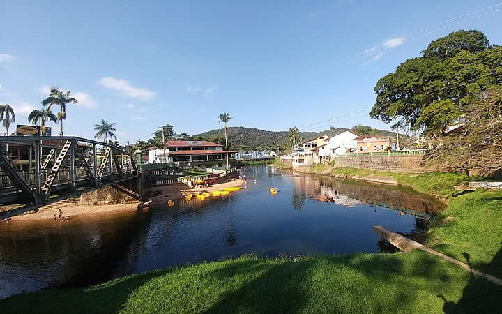 Morretes - Rio Nhundiaquara