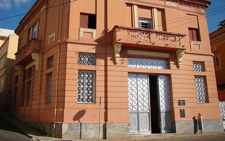 Faixada do Museu Municipal de Varginha