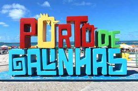O que fazer em Porto de Galinhas - Letreiro