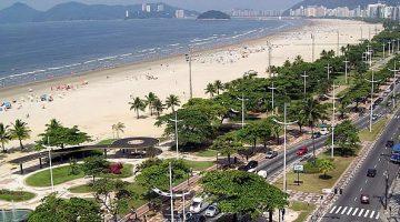 Orla da Praia de Santos