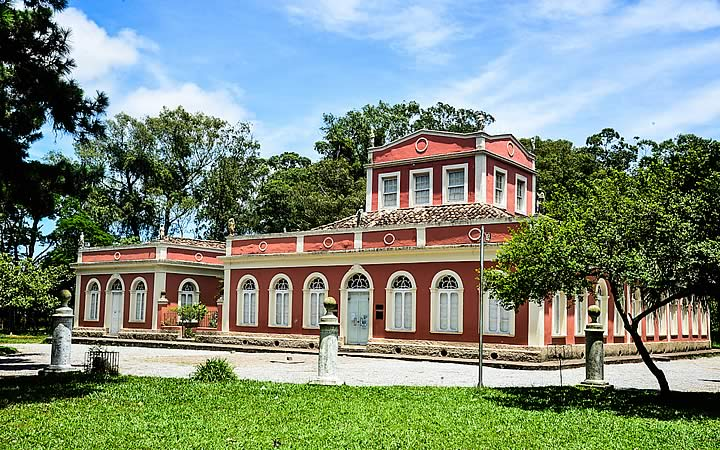 Parte da frente do Museu da Baronesa