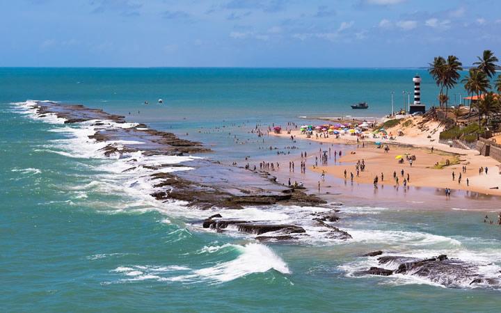 Pessoas na Praia de Barreira - Coruípe
