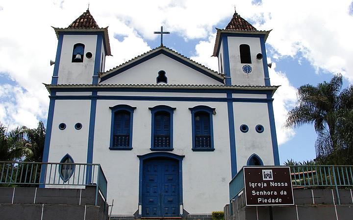 Piedade do Paraopeba - Igreja Matriz da cidade