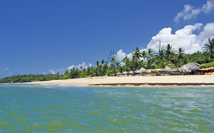 Praia da Boca na Ilha de Boipeba