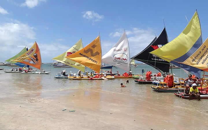 Praia da Vila - Passeio de Jangada