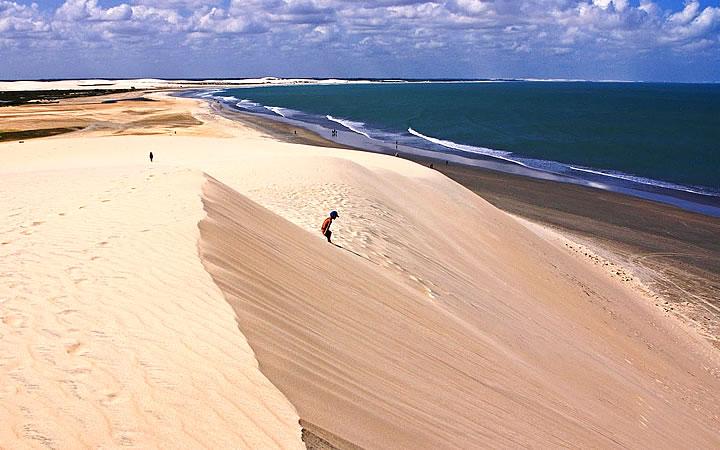 Praia das Dunas em Sergipe