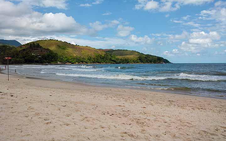 Praia em Maresias