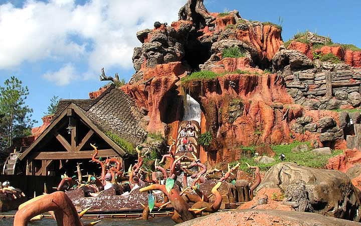Splash Mountain - Magic Kingdom