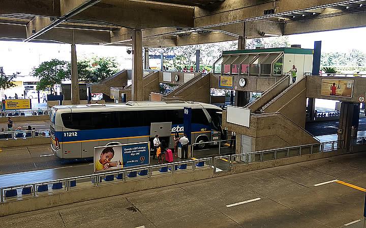 Terminal de Jabaquara em São Paulo