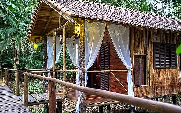 Cabana glamping Mangarito em Iporanga