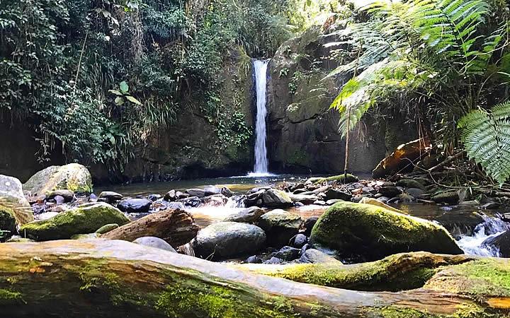 Cachoeira do Sem Fim em Iporanga
