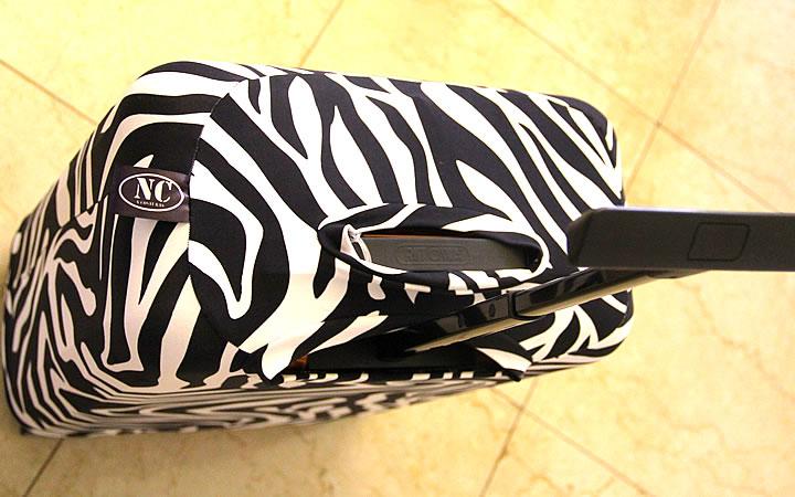 Capa de Zebra para Mala