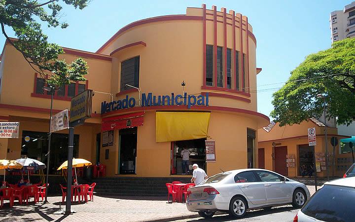 Fachada do Mercado Municipal de Uberlândia