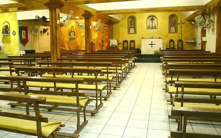 Interior da Igreja de São Miguel do Arcanjo
