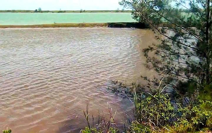 Lagoa Vermelha em Araruama