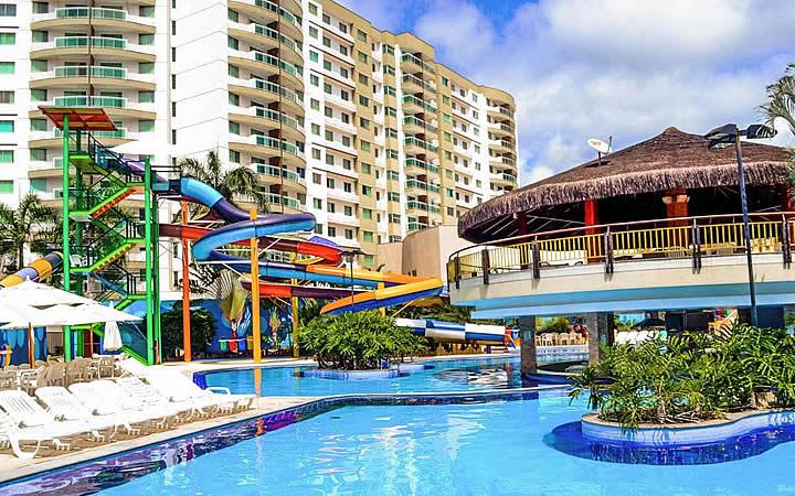 Piscina de hotel em Caldas Novas