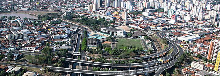 Vista aérea de São José do Rio Preto