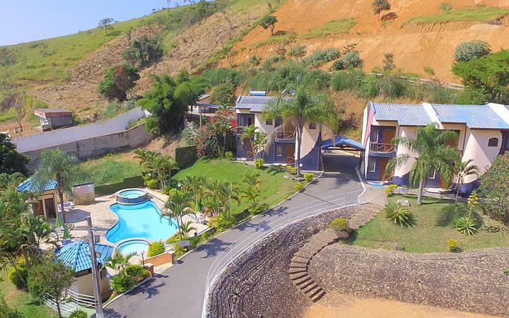 Vista aérea do Hotel Porto dos Milagres