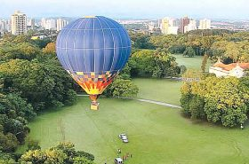 Balão em Piracicaba